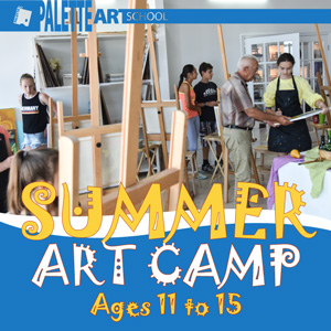 Summer Art Camp for Teens