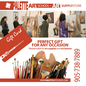 Gift Cards Redeemable for Art Supplies and Art Lessons